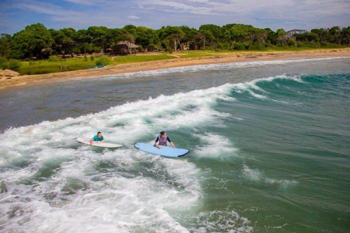 Surf Lesson at Peanut Farm